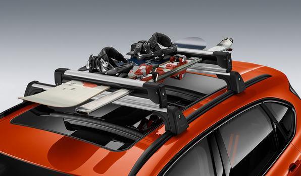 Ski und Snowboardhalterung BMW