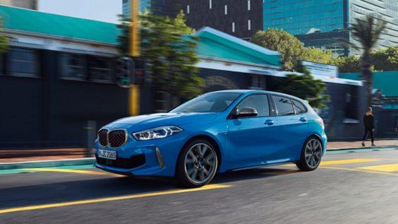 The 1: 1er BMW von der Seite